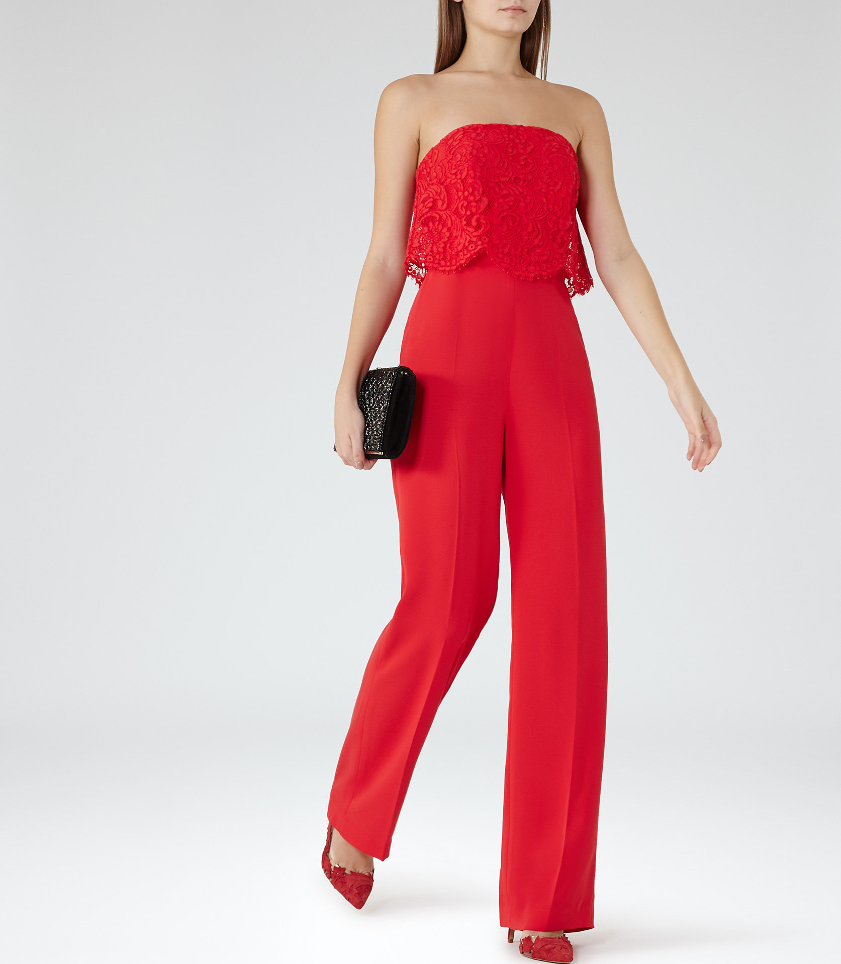 Natalie red jumpsuit 1