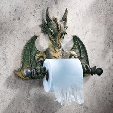 Thumb medium design toscano bath tissue tyrant  commode dragon 1