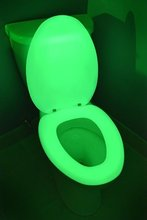 Thumb medium glow in the dark neon toilet seat  neon green  elongated  4