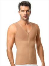 Thumb medium men s abs slimming body shaper with back support  leo