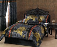 Thumb medium dragon jacquard comforter set