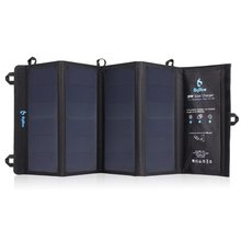 Thumb medium foldable outdoor solar powered charger with sunpower