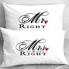 Thumb medium mr right mrs always right pillowcases