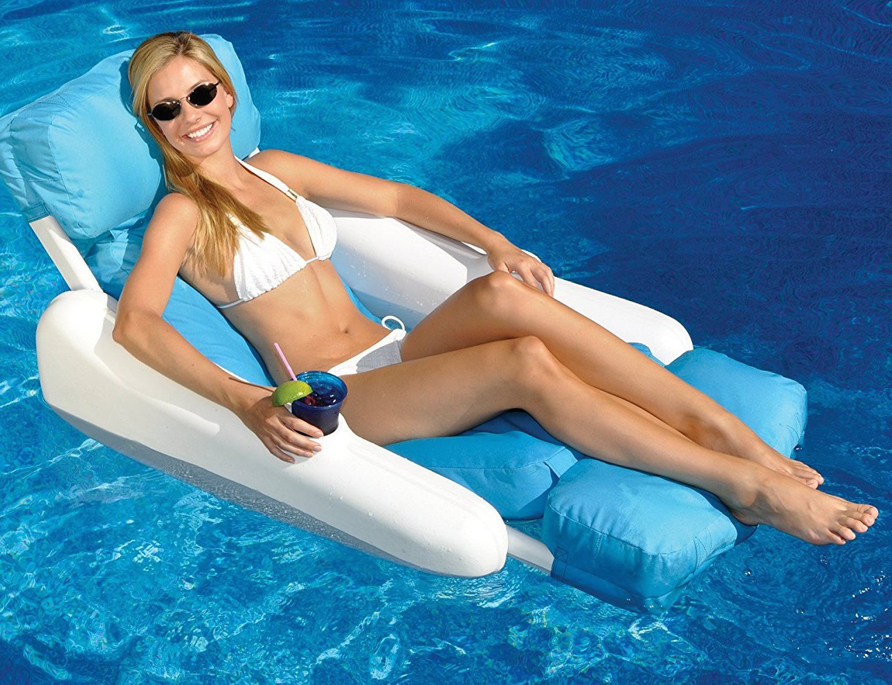 Swimline 10025 sunsoft sunchaser lounger seat