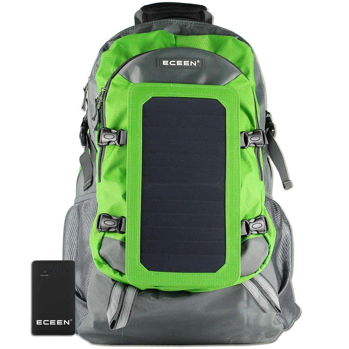 Solar backpack  7 walls solar panel bag
