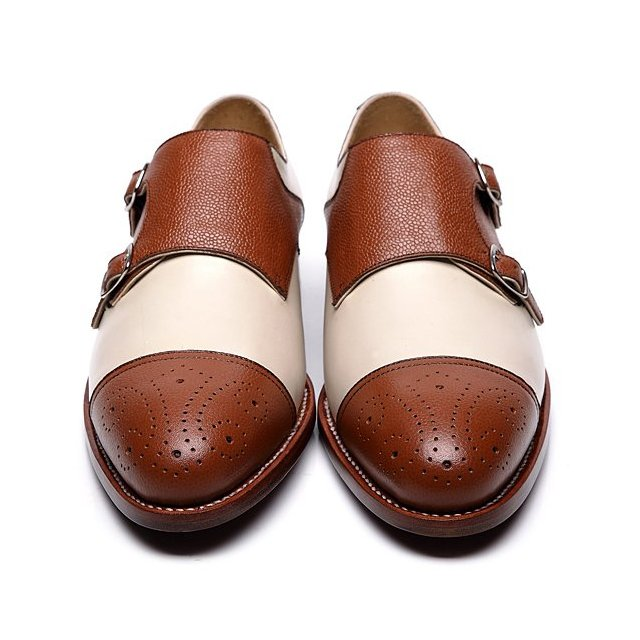 Oliver double monkstrap shoes