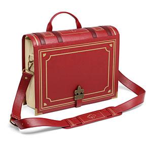 1ff5 old book messenger bag