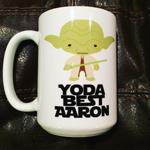 """""""yoda Coffee MugTlg Best"""" Star Wars YDW9E2HI"""