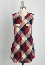 Thumb medium rooftop harvest plaid tunic in red