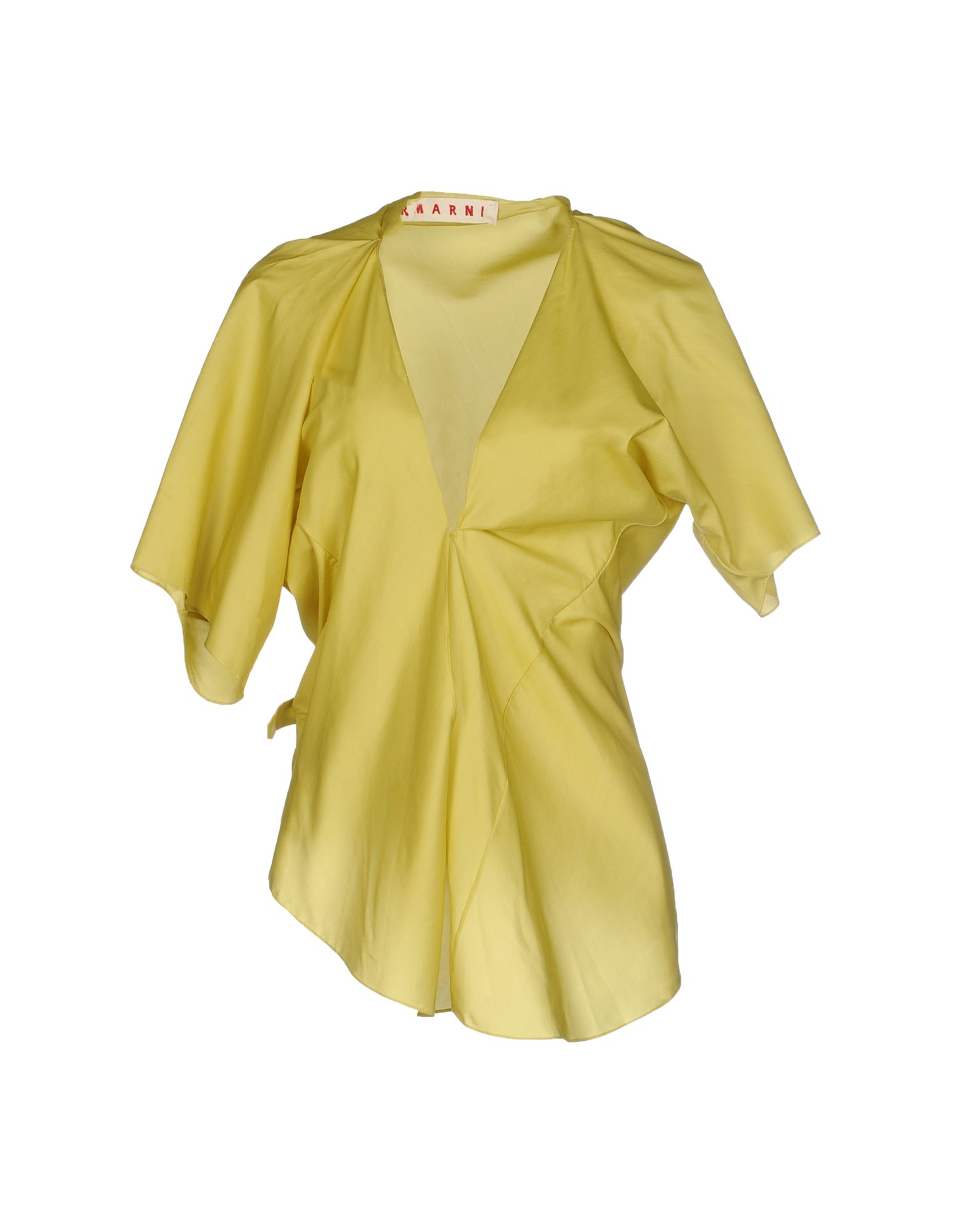 Marni yellow blouse