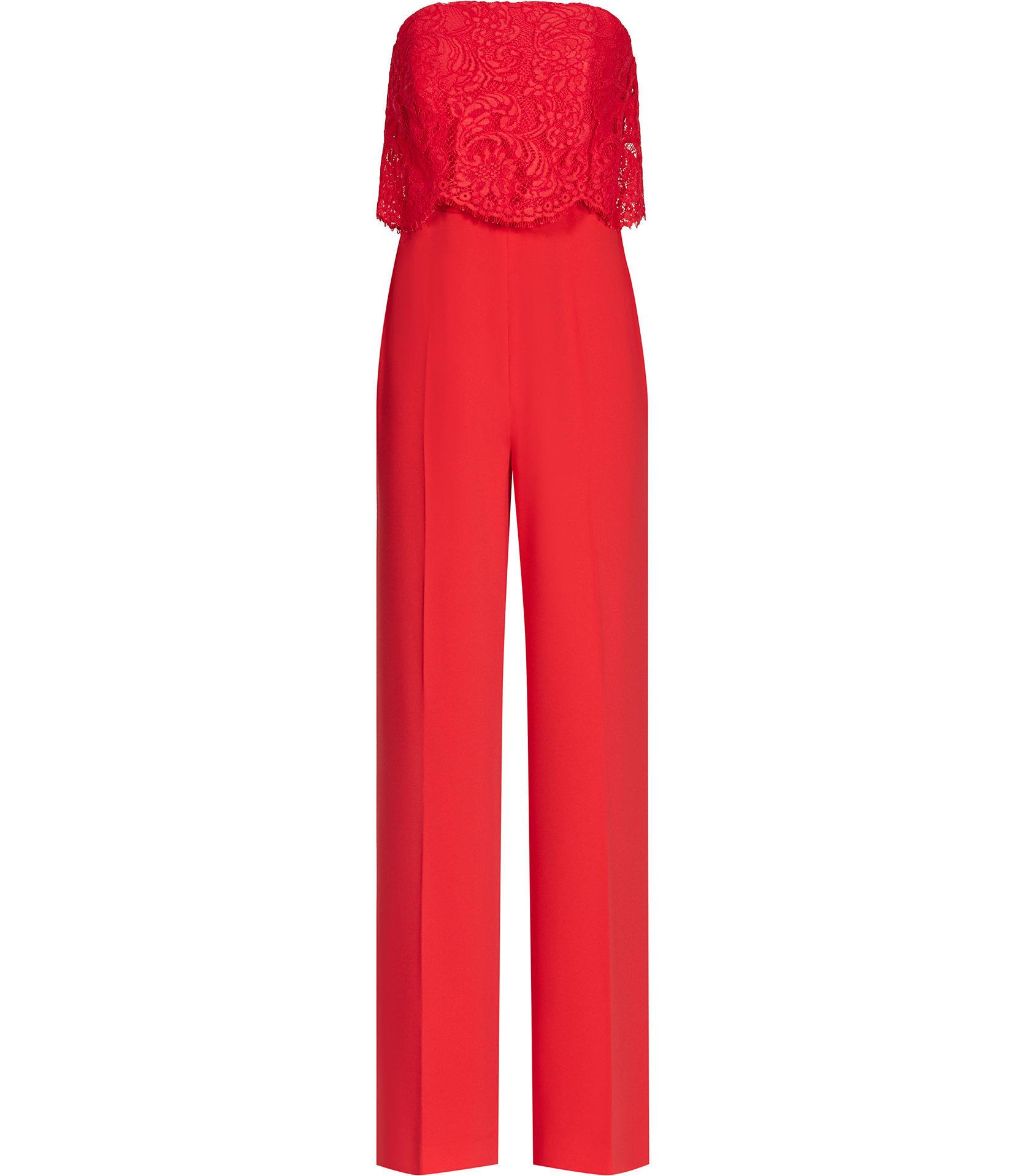 Natalie red jumpsuit 2