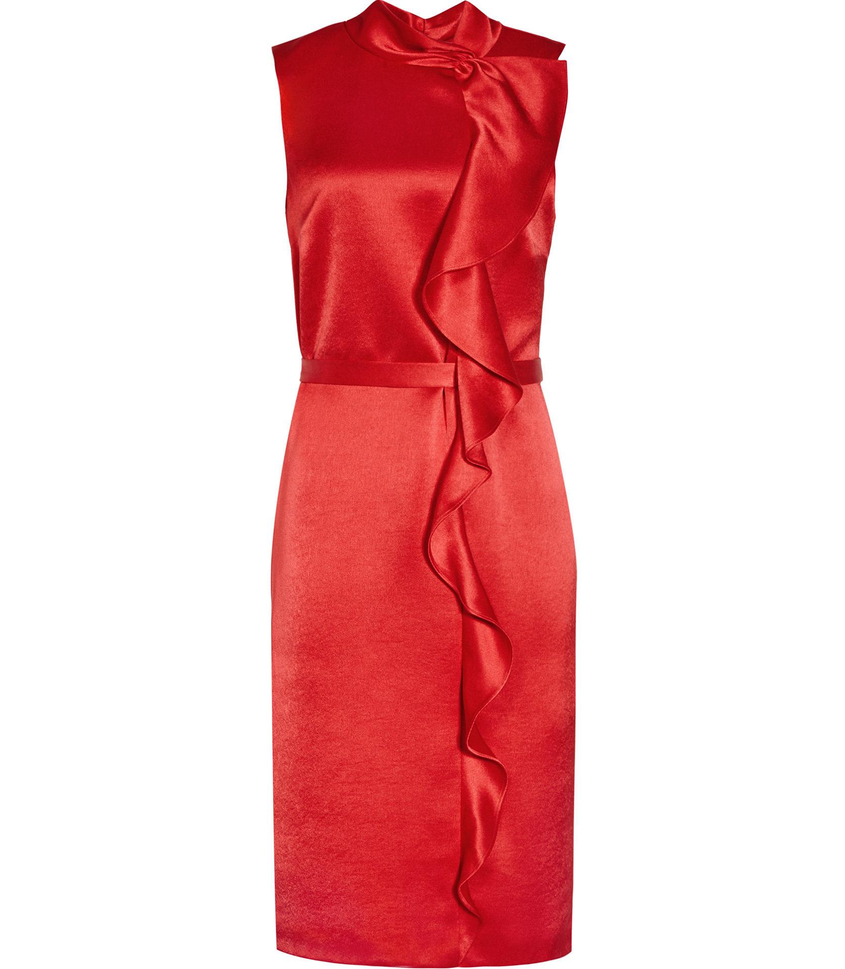 Lola china red dress 1