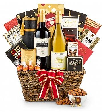 6946ae toast of california wine basket