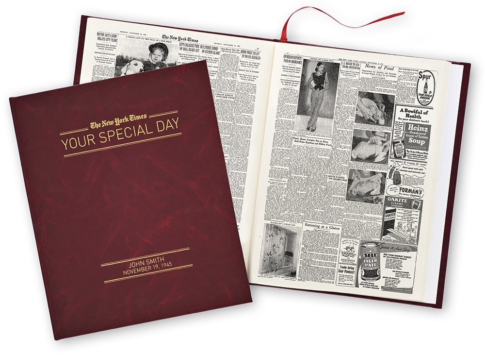 New york times your special day book