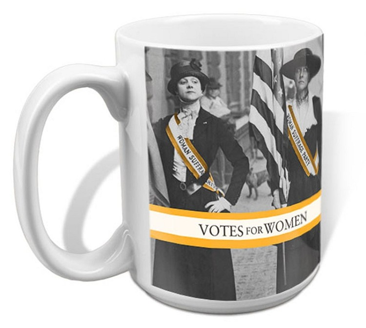 Votes for women ceramic mug1