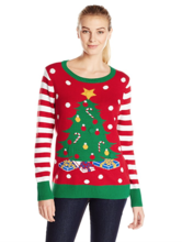 Thumb medium ugly christmas sweater women s light up christmas tree sweater