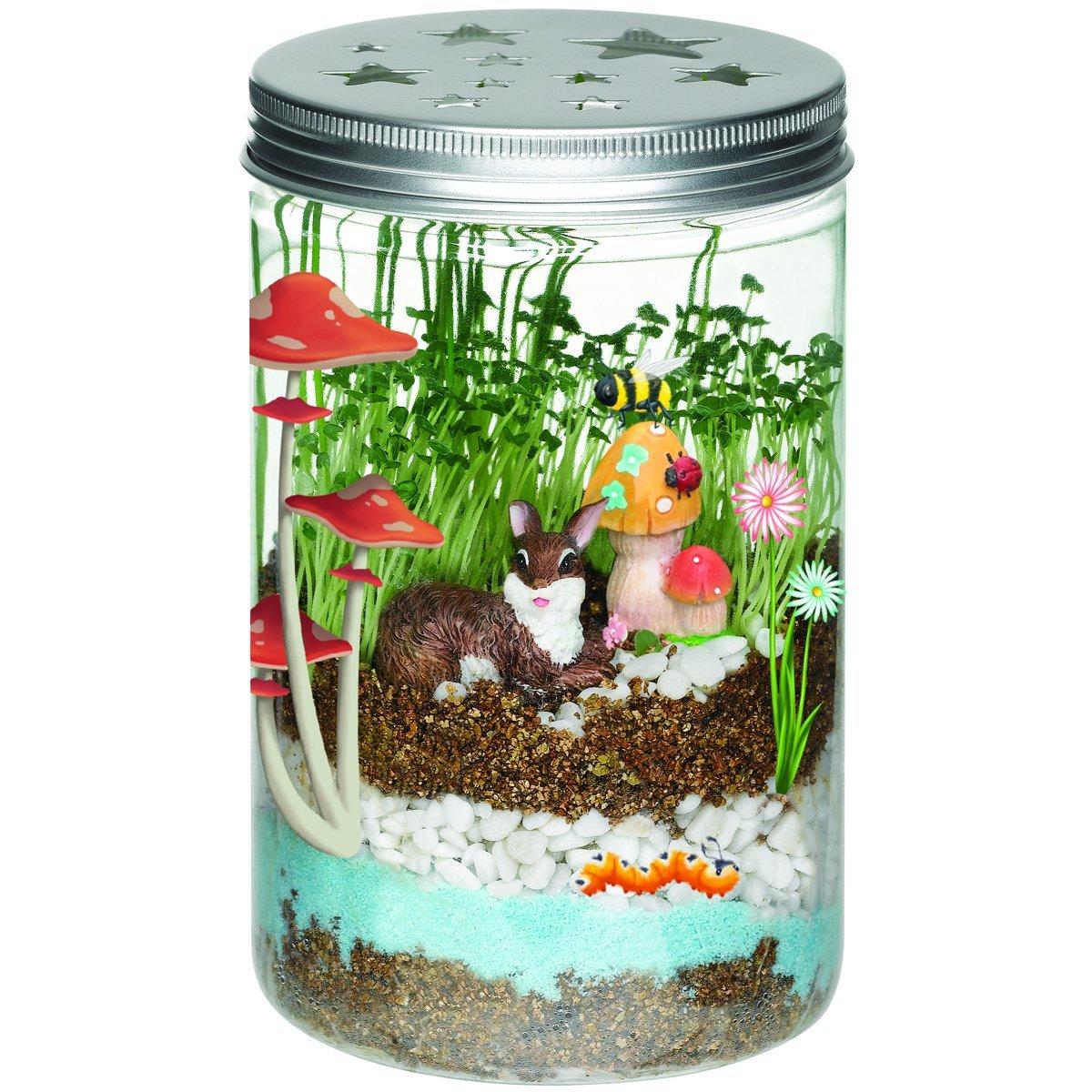 Creativity for kids grow  n glow terrarium 1