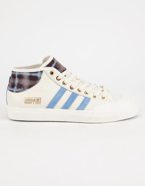 Adidas snoop x gonz matchcourt mid mens shoes