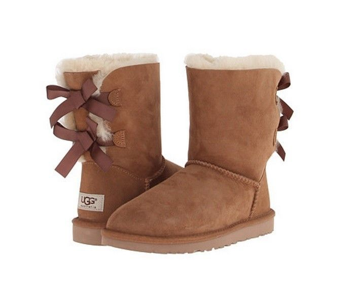 brown ribbon uggs