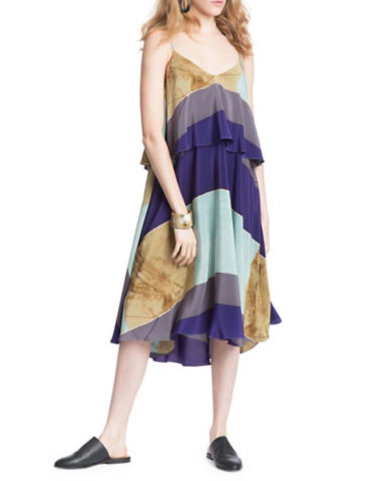 Tracy reese print tank dress