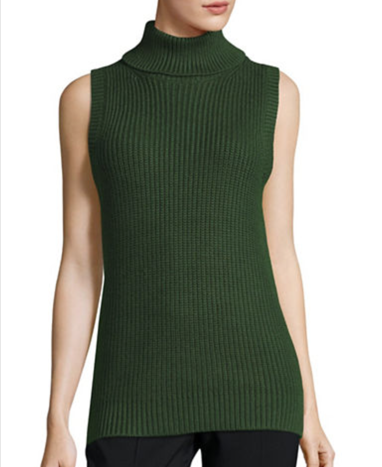 Michael michael kors sleeveless knit sweater