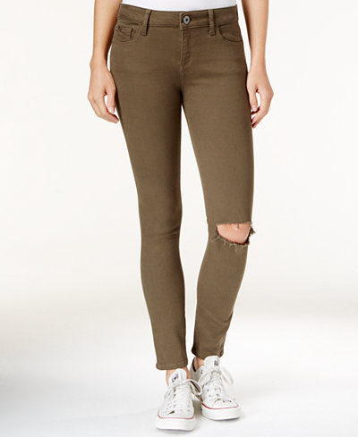 Margaux ripped basin wash skinny jeans