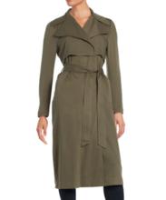 Thumb medium karl lagerfeld paris belted trench coat