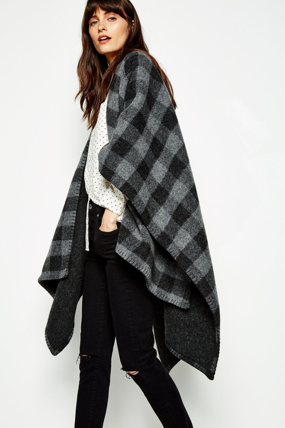 Tilcoultry wool cape