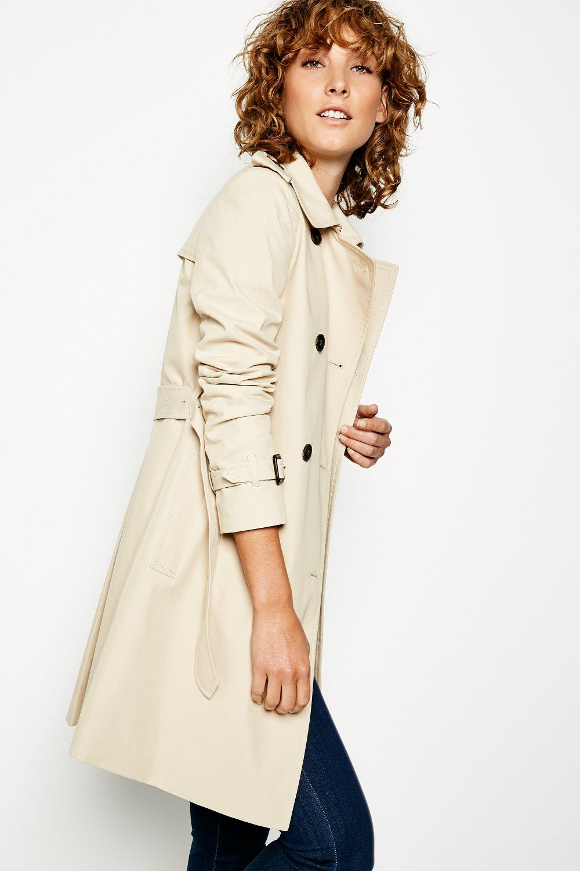 Duncombe trench coat