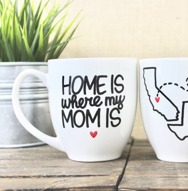 Home is where my mom is mug   mom mug   state to state mug