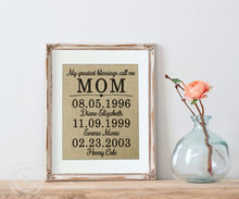 Thumb medium home decor birthday gift for mom from daughter  wife gift  personalized gifts for mom  mom gifts  personalized home decor  mom wall art