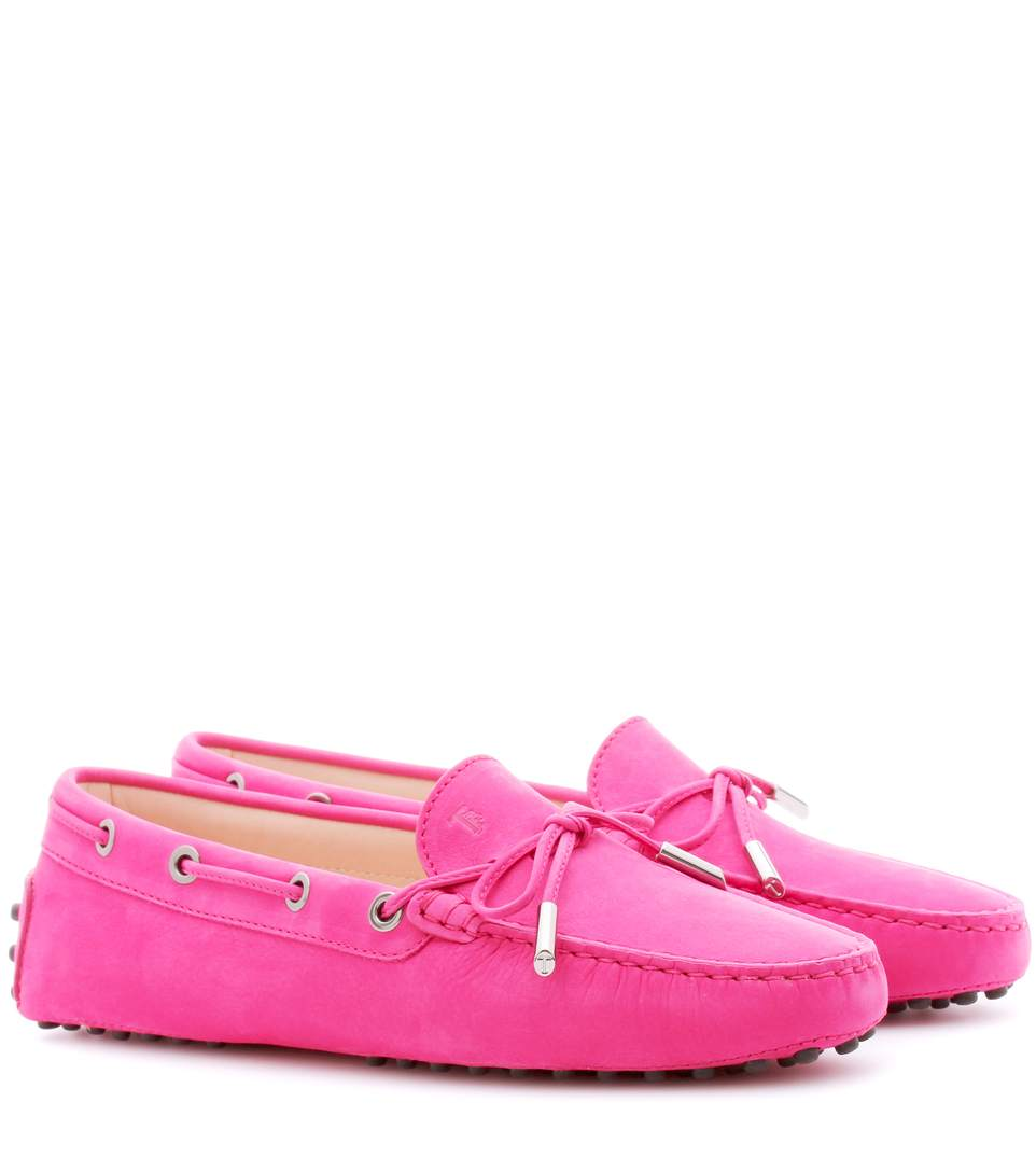 Tod s gommini suede loafers