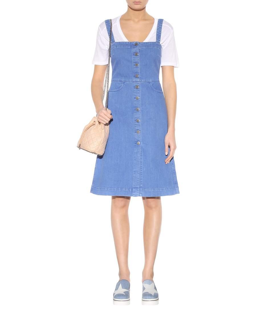Stella mccartney denim dress2