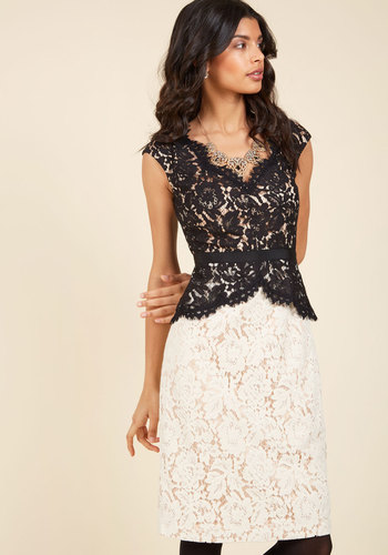 Courageously clad lace dress 1