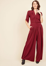 Thumb medium the embolden age jumpsuit in burgundy