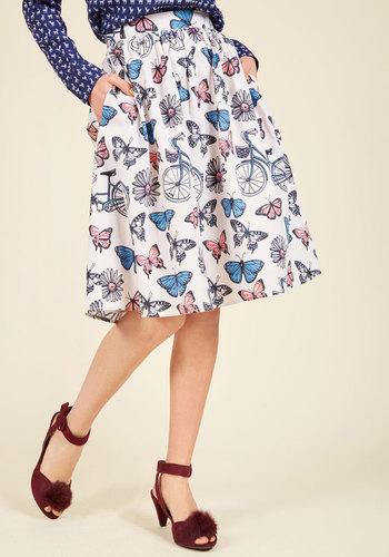 Flit and flirt a line skirt