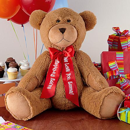 Personalized 27  plush teddy bear