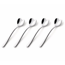 Thumb medium alessi set of four heart coffee spoons