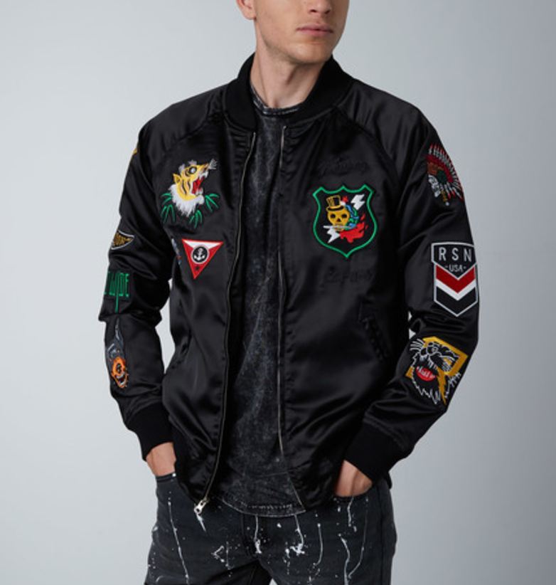Flying tigers jacket    black