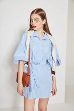 Thumb medium stripe belted mini dress 3