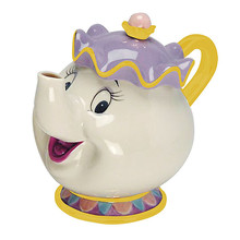 Thumb medium beauty and the beast mrs. potts sculpted ceramic teapot