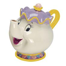 Thumb medium beauty and the beast mrs. potts sculpted ceramic teapot