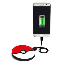 Thumb medium poke  ball portable disc charger