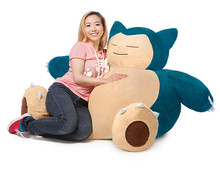 Thumb medium poke mon snorlax bean bag chair 1