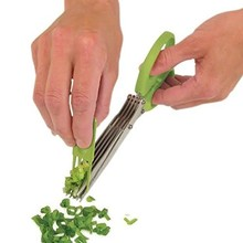 Thumb medium master culinary multipurpose 5 blade herb scissors