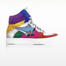 Thumb medium rainbow leather eclipse high top sneakers