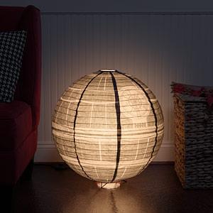 Ipsn death star giant paper lantern inuse