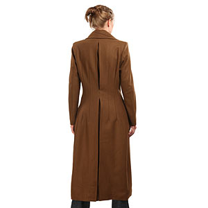 F3a4 ladies 10th doctor coat back