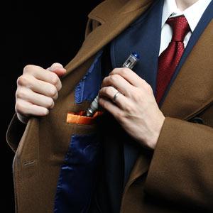 Ea7a 10th doctor coat pocket