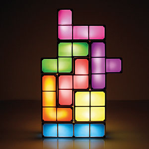 F034 tetris stackable led desk lamp mood